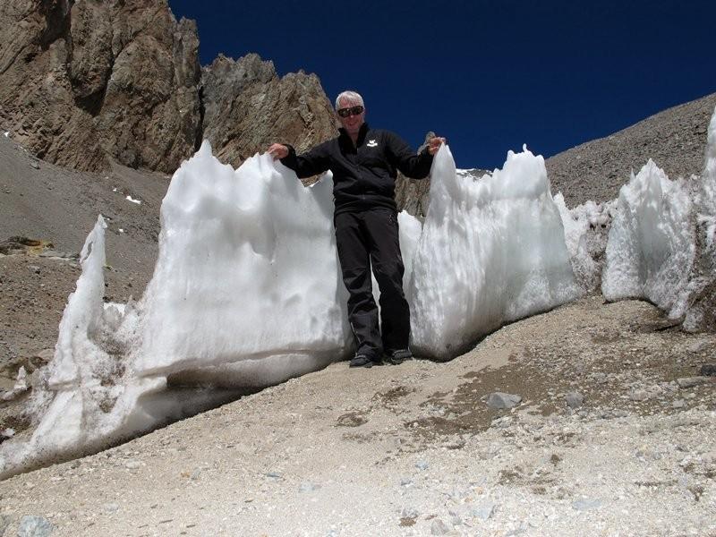 2011 - Sidhisch: Aconcagua Büßereis am Hochlager I